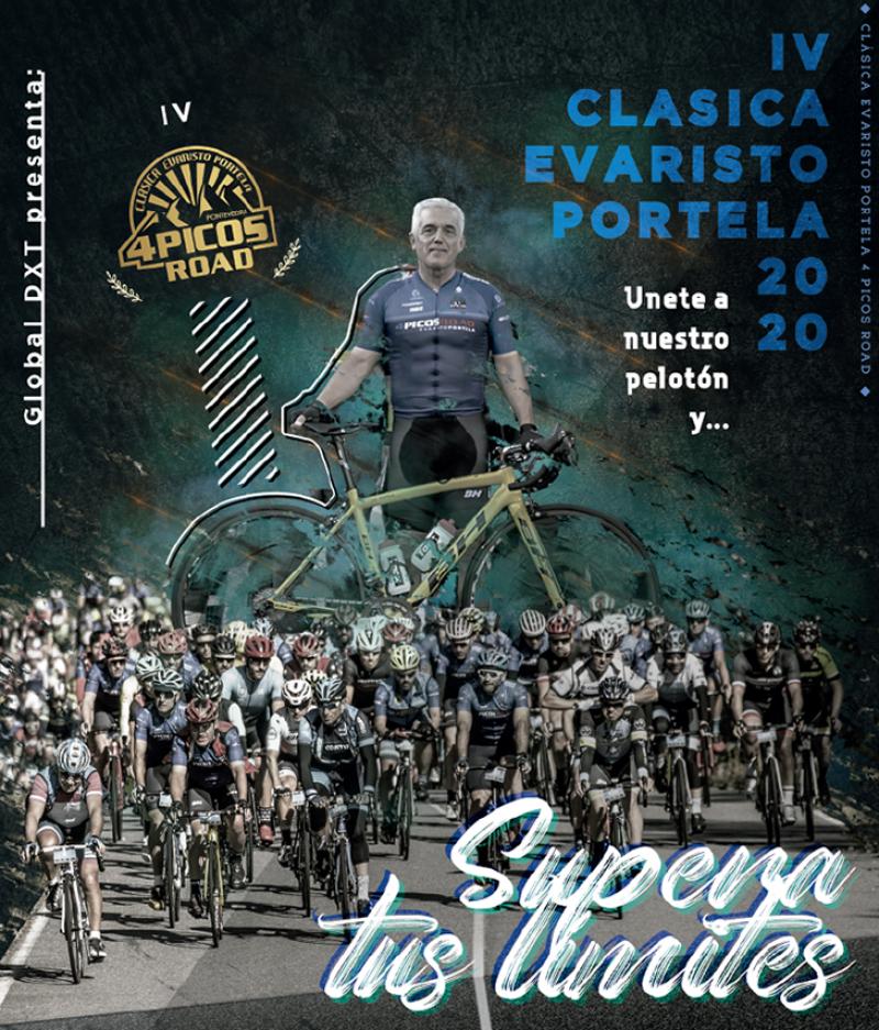 Cartel del evento PONTEVEDRA 4 PICOS ROAD «CLÁSICA EVARISTO PORTELA 2020»