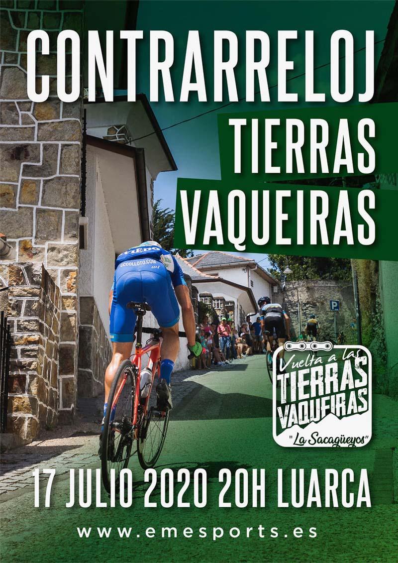 Cartel del evento CONTRARRELOJ TIERRAS VAQUEIRAS