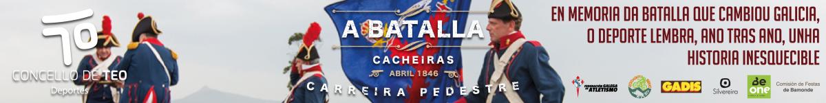 Clasificaciones  - CARREIRA PEDESTRE BATALLA DE CACHEIRAS 2019   CONCELLO DE TEO