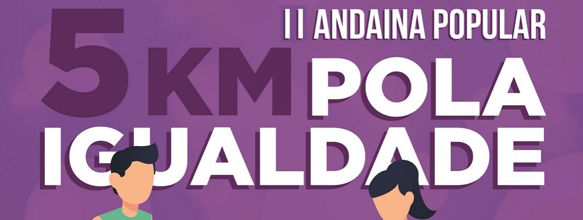 Inscripción - II ANDAINA POPULAR 5 KM POLA IGUALDADE CONCELLO DE O PINO