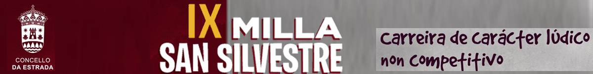 Inscripción - IX MILLA SAN SILVESTRE ESTRADENSE