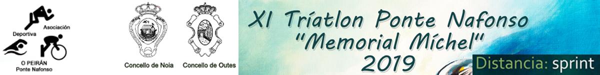 "Clasificaciones  - XI TRIATLON PONTENAFONSO MEMORIAL ""MICHEL"""