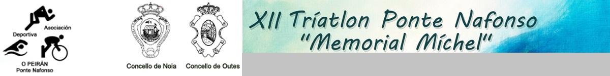 "Clasificaciones  - XII TRIATLON PONTENAFONSO MEMORIAL ""MICHEL"""